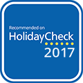 HolidayCheck Recommended 2017
